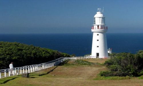 Zdjęcie AUSTRALIA / Wiktoria / Cape Otway / Latarnia morska na Cape Otway