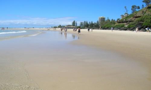 Zdjecie AUSTRALIA / Qld / Gold Coast / Szerokie plaze