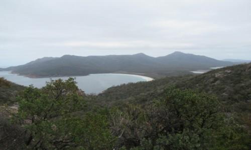 Zdjecie AUSTRALIA / Tasmania / Wineglass Bay / Natura dalekich okolic