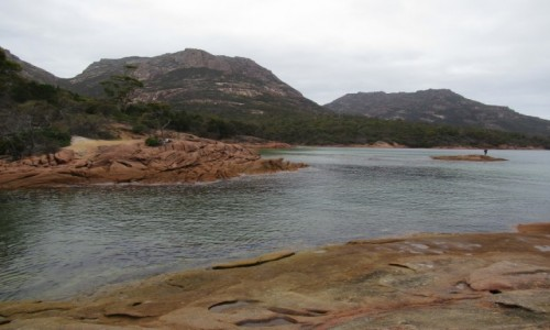 Zdjecie AUSTRALIA / Tasmania / Freycinet Nationalpark / Bay of Fires
