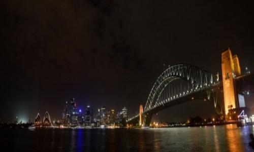Zdjecie AUSTRALIA / New South Wales / Sydney / Sydney nocą