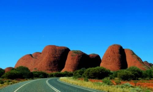 Zdjecie AUSTRALIA / Northern Territory / Olgas / Olgas