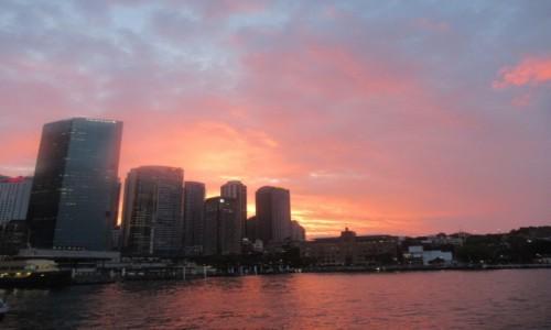 Zdjecie AUSTRALIA / Sydney / Sydney / Zachód słońca