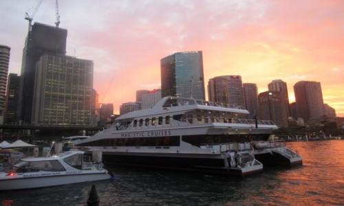 Zdjecie AUSTRALIA / Sydney / Sydney / Wieczór w Sydney