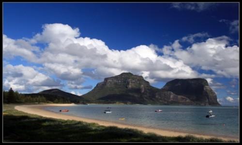 Zdjęcie AUSTRALIA / NPW / Lord Howe  / Wyspa