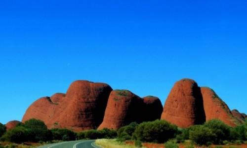 Zdjecie AUSTRALIA / Northen Territory / Uluru / Olgas