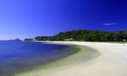 Zdjecie AUSTRALIA / NPW / Port Stephens  / Plaża