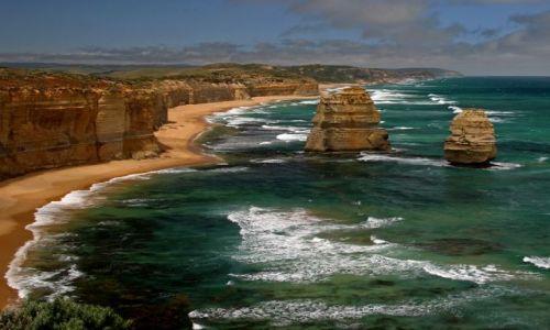 Zdjęcie AUSTRALIA / brak / Skały 12 Apostołów / Dwóch Apostołów