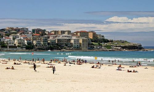 Zdjecie AUSTRALIA / brak / Bondi Beach / Plaża