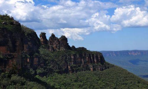 Zdjecie AUSTRALIA / blue montains / trzy siostry / siostry