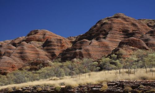 Zdjecie AUSTRALIA / Kimberley / W drodze do Picaninny gorge / The Bungle Bungles