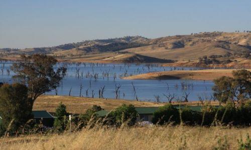 Zdjecie AUSTRALIA / Victoria / jezioro Hume / jezioro Hume