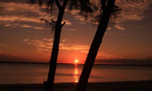Zdjecie AUSTRALIA / Queensland / Fraser Island / Fraser Island - cudowny zachód słońca