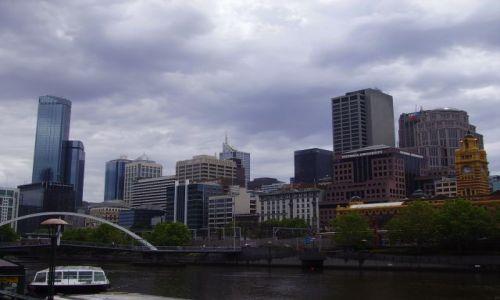 Zdjęcie AUSTRALIA / południowa Australia / Melbourne / Melbourne - panorama w deszczu