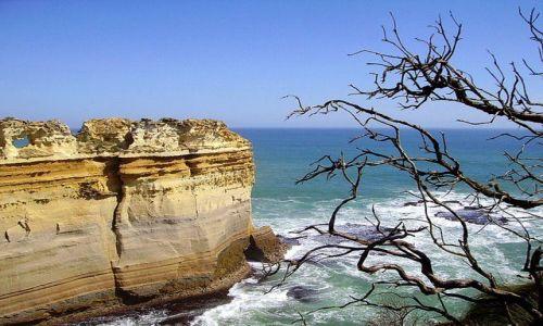 Zdjecie AUSTRALIA / południowa Australia / Great Ocean Road / kolejna formacja skalna
