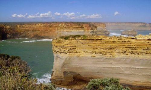 Zdjecie AUSTRALIA / Południowa Australia / Great Ocean Road / labirynt skał