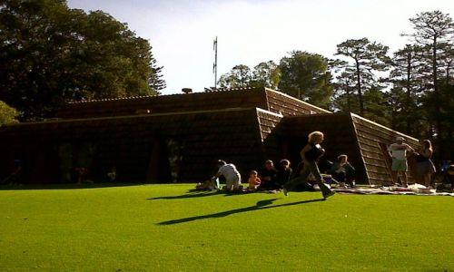 Zdjecie AUSTRALIA / WA / Perth / majowka w parku w niedzielne popoludnie
