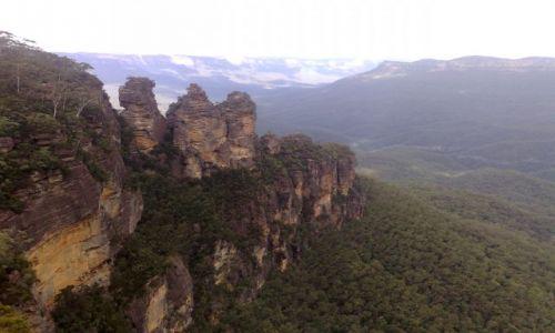 Zdjecie AUSTRALIA / NSW / Blue Montains / Trzy Siostry
