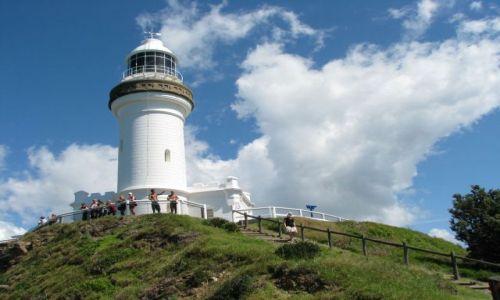 Zdjecie AUSTRALIA / Nowa Południowa Walia / Cape Byron / Latarnia morska na Cape Byron