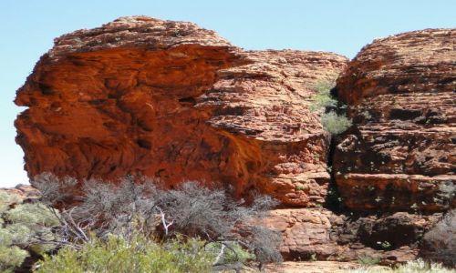 Zdjęcie AUSTRALIA / Terytorium Północne / King`s Canyon / Na szczycie