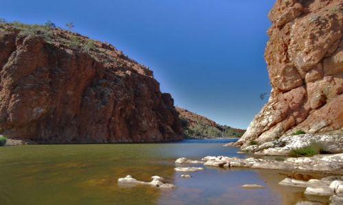 Zdjęcie AUSTRALIA / Terytorium Północne / Glen Helen George / Z jednej strony