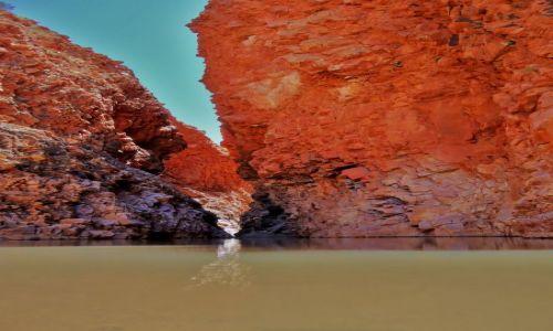 Zdjęcie AUSTRALIA / Terytorium Północne / Glen Helen George / Z drugiej strony