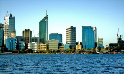 Zdjęcie AUSTRALIA / Australia Zachodnia / Perth / Nad rzeką Swan