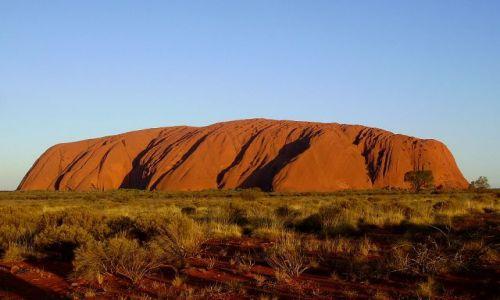 Zdjecie AUSTRALIA / środkowa Australia / Ayers Rock / Konkurs - Uluru