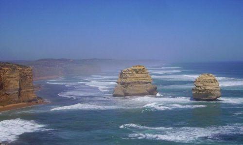 AUSTRALIA / południowa Australia / Great Ocean Road / ostańce  skalne