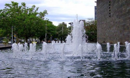 Zdjęcie AUSTRALIA / Południowa Australia / Melbourne / fontanna w Melbourne