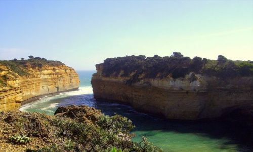 AUSTRALIA / południowa Australia / Great Ocean Road / zatoczka