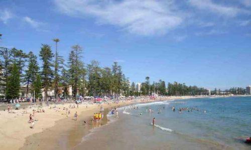 AUSTRALIA / NSW / Manly / Manly Beach