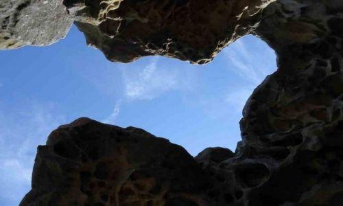 AUSTRALIA / Sydney / Manly / erozja skał w Shelly Beach Park