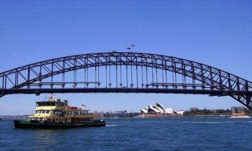 AUSTRALIA / południowa Australia / Sydney / zatoka w Sydney