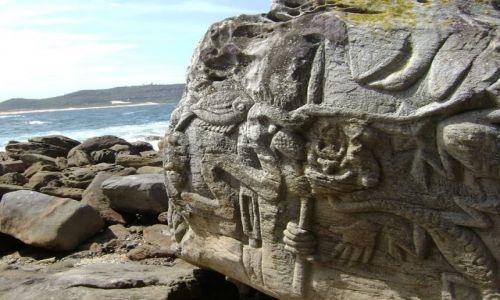 Zdjecie AUSTRALIA / NSW / Palm Beach / stone