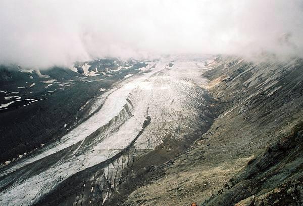 Zdjęcia: Lodowiec Pasterze, Karyntia, Tyrol Wschodni, Lodowiec latem, AUSTRIA