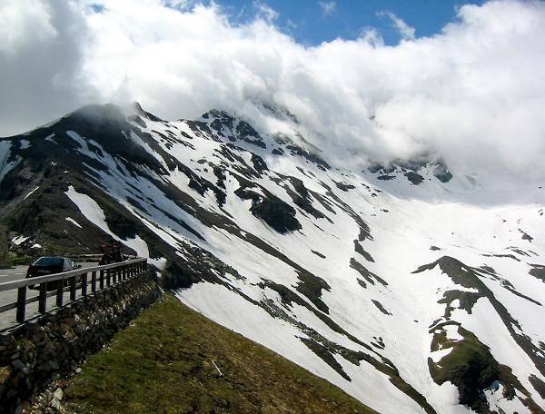 Zdjęcia: Hochalpenstrasse - droga do Edelweissspitze, Karyntia, Tyrol Wschodni, Alpejska droga do szczytu, AUSTRIA
