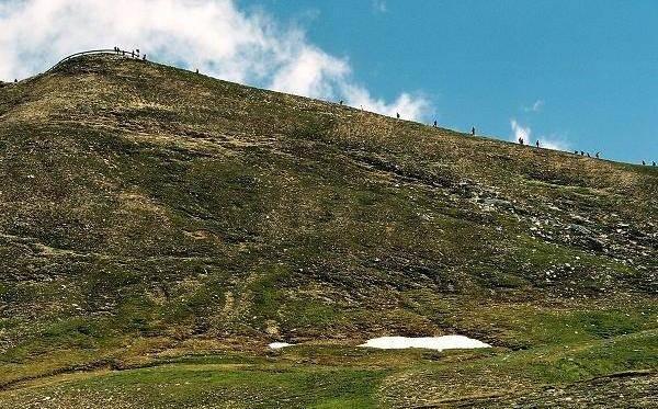 Zdjęcia: Hochalpenstrasse, Karyntia, Tyrol Wschodni, Wielu chce zobaczyć, AUSTRIA