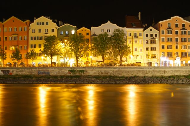 Zdjęcia: Insbruck, Austria, Insbuck noca, AUSTRIA