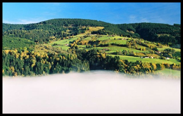 Zdjęcia: National Hohe Tauern, National Hohe Tauern, Poranne mgły, AUSTRIA