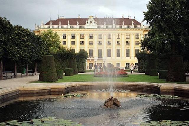 Zdjęcia: Wiedeń, Schonbrunn, AUSTRIA