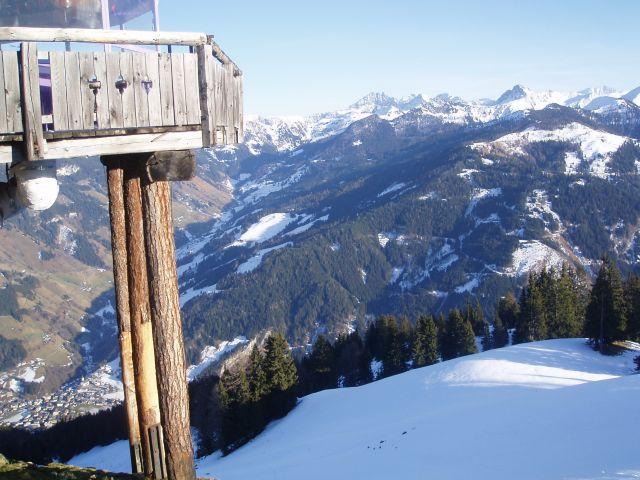 Zdjęcia: Bad Gastein, Alpy, Widoczek z góry, AUSTRIA