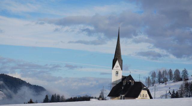 Zdjęcia: Embach, Embach, Kościółek w Embach, AUSTRIA