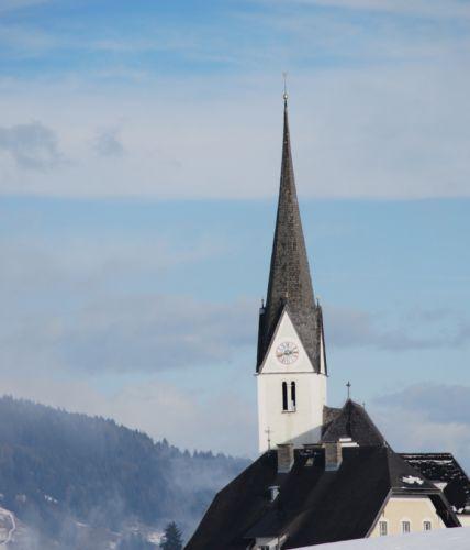 Zdjęcia: Embach, Embach, Kościółek w Embach - inna perspektywa, AUSTRIA