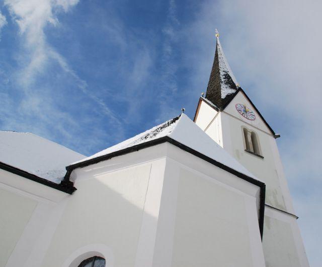 Zdjęcia: Embach, KRAJ SALZBURSKI, Kościółek w Embach, AUSTRIA
