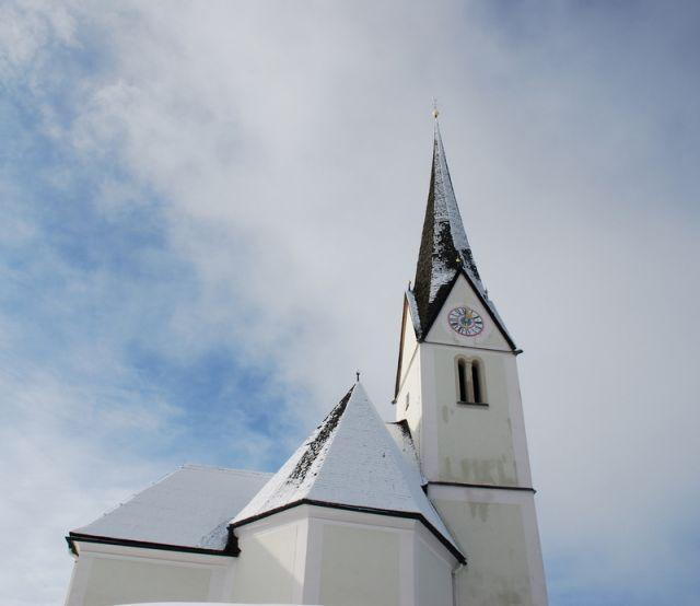 Zdjęcia: Embach, KRAJ SALZBURSKI, Kościółek w Embach 3, AUSTRIA