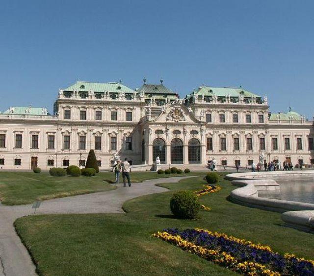 Zdj�cia: Wiede�, Wschodnia Austria, Belweder, AUSTRIA