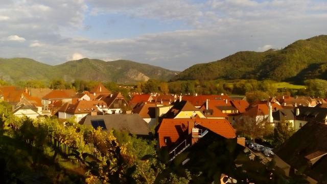 Zdjęcia: Weissenkirchen, Dolina Wachau, Dachy Weissenkirchen, AUSTRIA