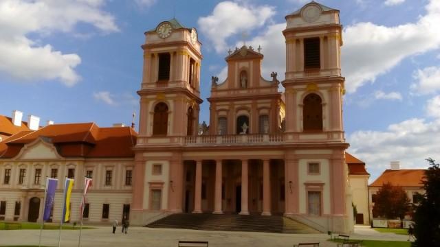 Zdjęcia: Göttweig, Dolina Wachau, Göttweig - kościół klasztorny, AUSTRIA