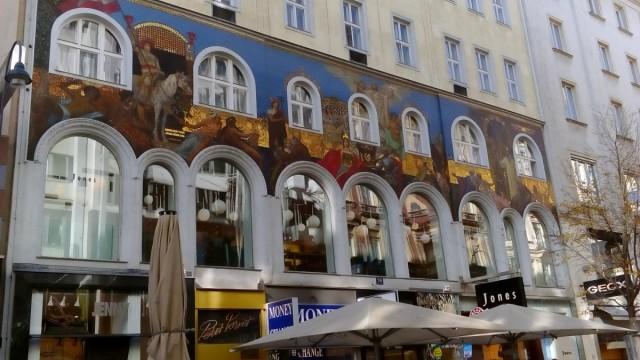 Zdjęcia: Wiedeń, Wiedeńskie kamienice, AUSTRIA